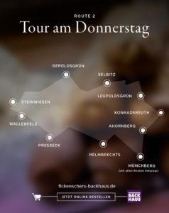 Backhaus Fickenscher Tour Donnerstag